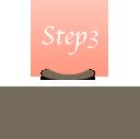 Step3 ご入力いただきましたメールアドレス宛に完了メールが届きます。
